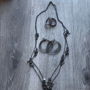 Everyday jewelry - darker silver/pewter color